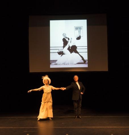 Ursula Hageli and Anthony Dowell. © Bill Cooper.