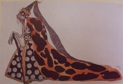 Leon Bakst's design for Carabossse