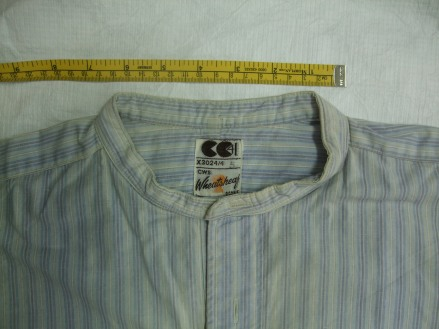 Detail of utility shirt