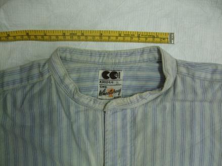 Detail of utility shirt
