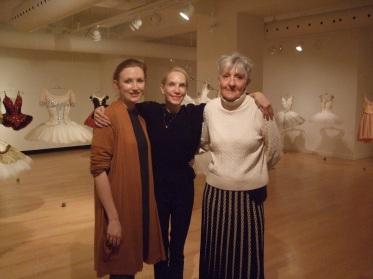 Caroline Hamilton, Evelyn Hart and Anne Armit