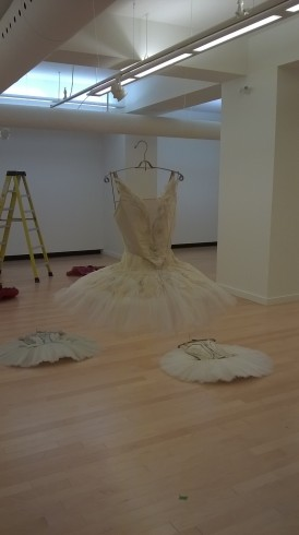 The first tutu going up