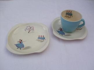 Beswick ballet teacup and saucer