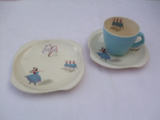 Beswick ballet teacup and saucer