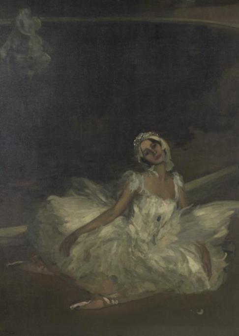 Le Mort du Cygne: Anna Pavlova 1911 by Sir John Lavery 1856-1941