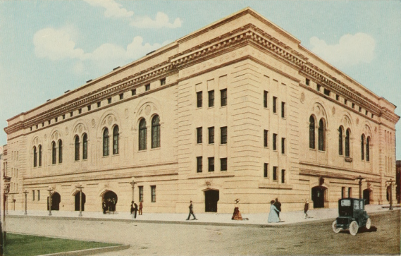 Houston City Auditorium 1913